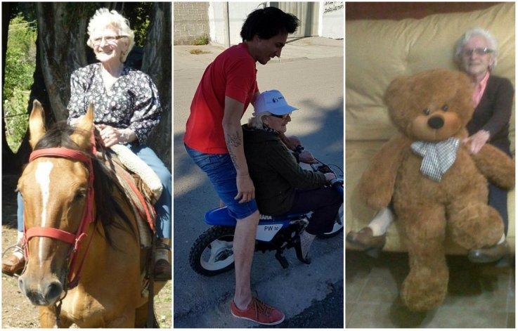 La abuela aventurera que a los 80 años decidió a empezar a cumplir sus pequeños sueños