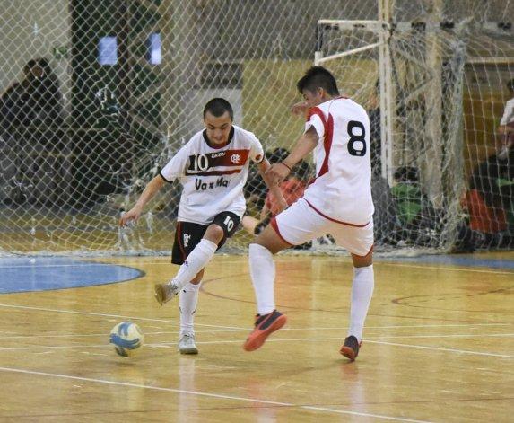 El fútbol de salón de la Asociación Promocional tuvo acción en el gimnasio municipal 2.