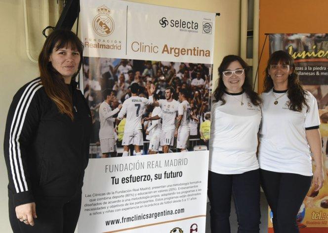 La Fundación Real Madrid realiza una clínica de entrenamiento en Rada Tilly
