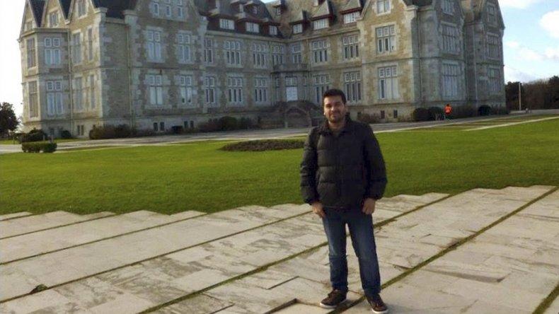 El docente de la Universidad Nacional de la Patagonia San Juan Bosco
