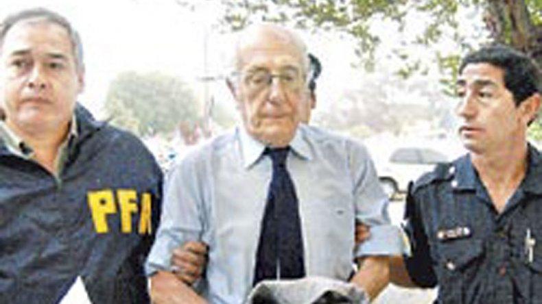 Horacio Mayorga cuando en 2008 debió prestar declaración ante el juez federal de Rawson.