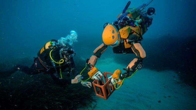 El robot submarinista que recuperará los tesoros del fondo del mar