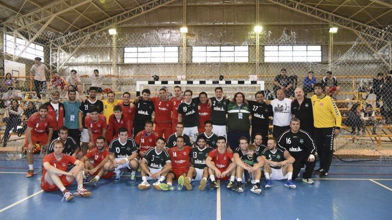 Torneo Nacional de Clubes Adultos A de Hándbol. Foto: Mario Molaroni / El Patagónico