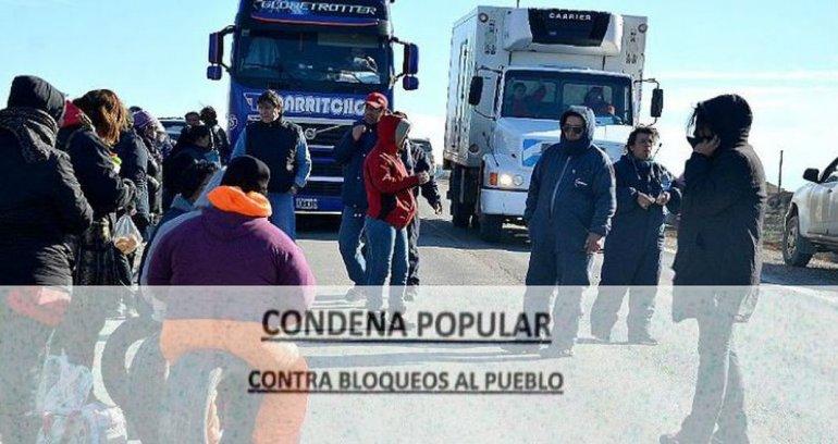 El pueblo de Cañadón Seco impulsa un pacto social antipiquetes