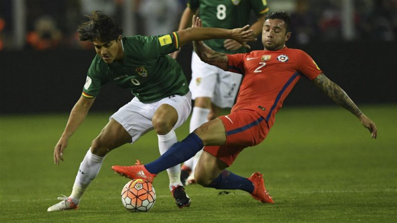 Chile viene de empatar sin goles con Bolivia y aún no está en zona de clasificación.