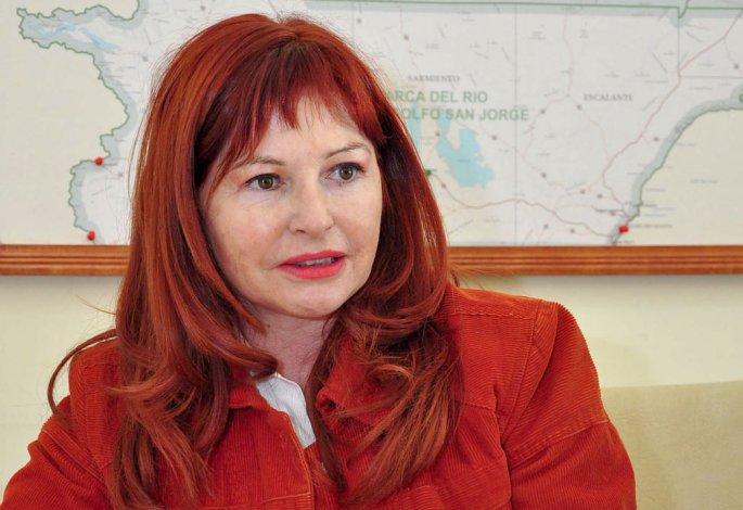 Rosa González no dio explicaciones. Solo se quejó porque no continuaron los trabajos del programa Invertir Igualdad.