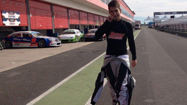 Tomás Beraldi probó el Chevrolet Cruze en Termas de Río Hondo y debutará en Córdoba.