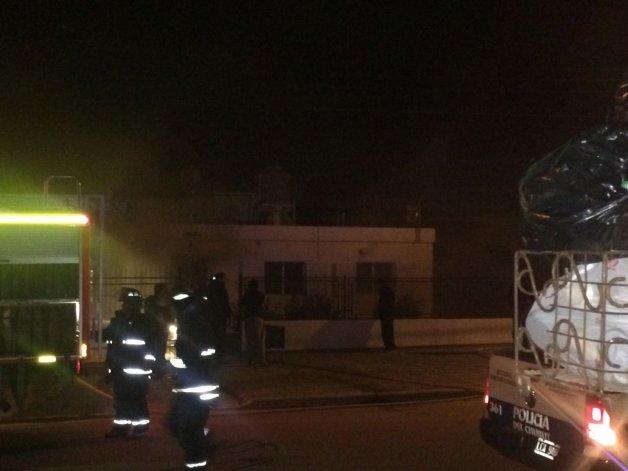 Se incendió la habitación de una vivienda en el barrio Pueyrredón