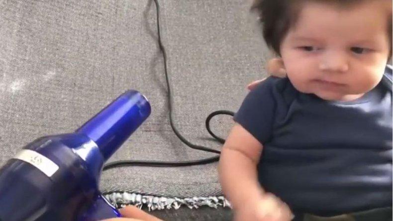 Tiene pocos meses de vida y su pelo revoluciona las redes sociales