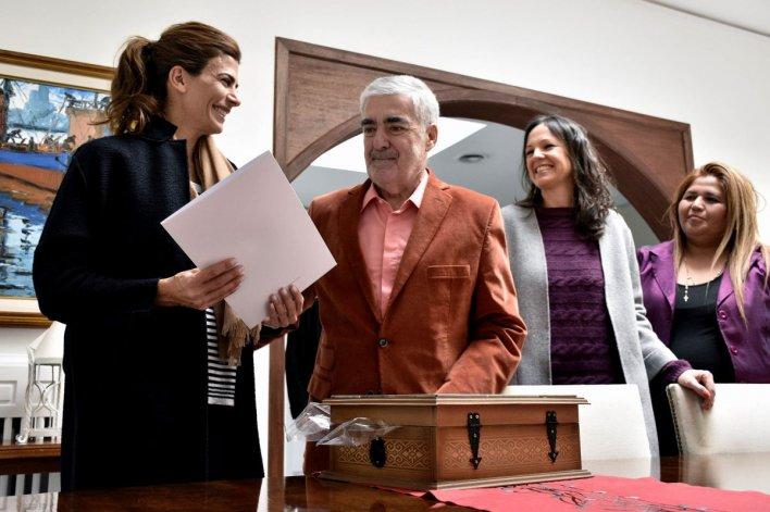 Das Neves, Stanley y Awada encabezaron la presentación de Políticas Sociales