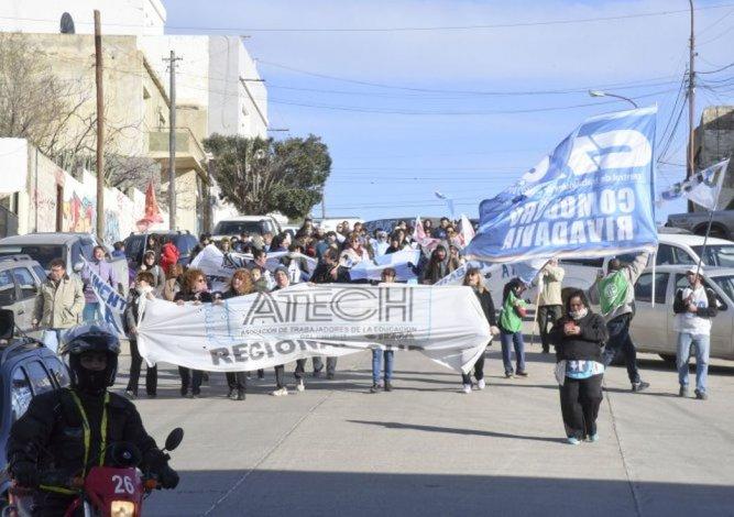 ATECh planea una jornada de lucha provincial para la semana que viene