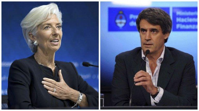 Lagarde se reunió con Prat Gay.