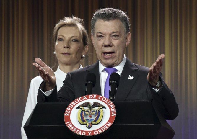 El presidente colombiano Juan Manuel Santos