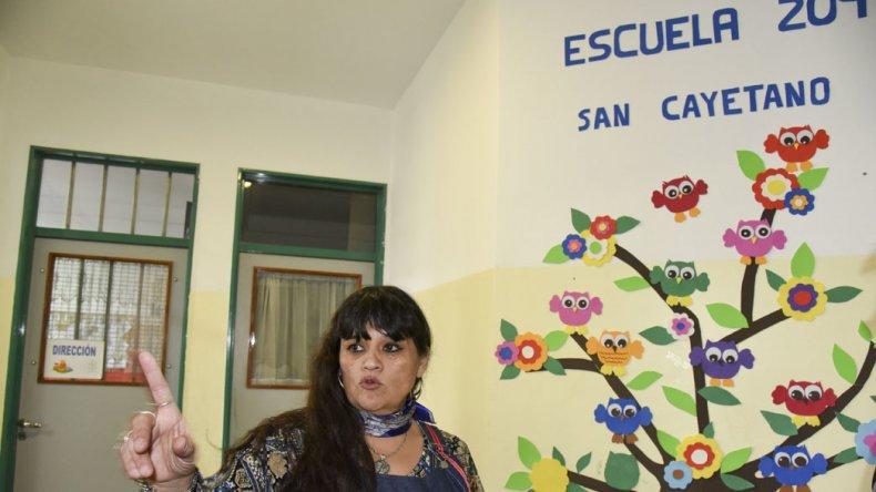La directora de la Escuela 209