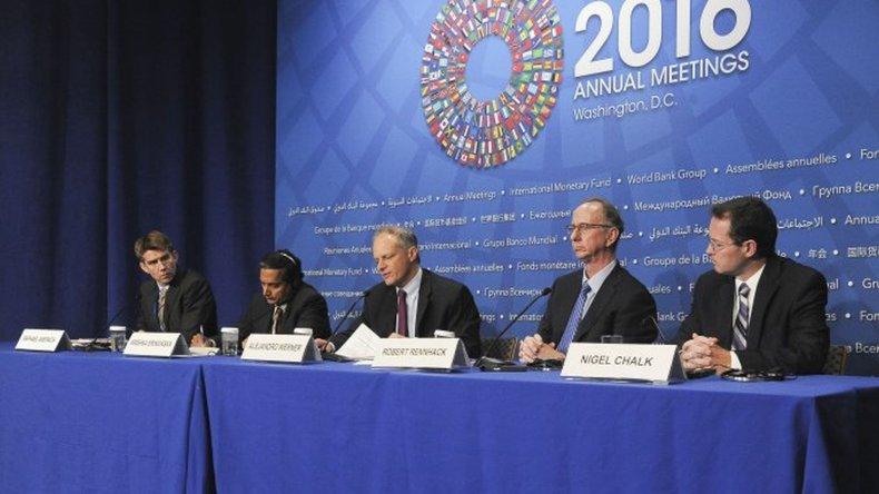 FMI: la economía argentina tocó fondo