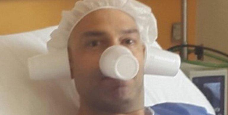 Freddy Villarreal, internado en terapia intensiva hace cinco días