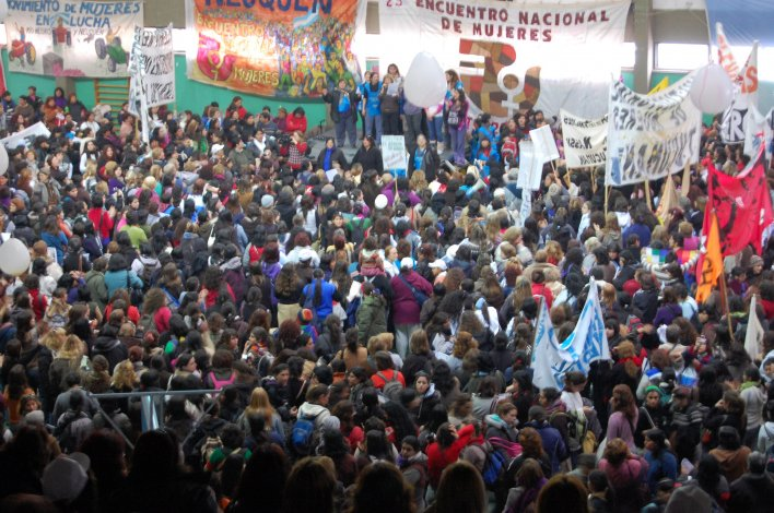 Un encendido discurso inauguró el XXXI Encuentro Nacional de Mujeres