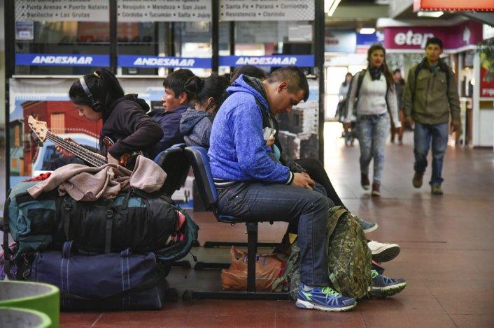 El movimiento de viajeros en la terminal de Comodoro Rivadavia no implicó tanta demanda como en otros años
