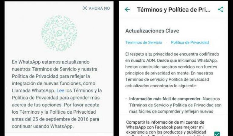 ¿Es legal que Facebook y Whatsapp compartan tus datos?
