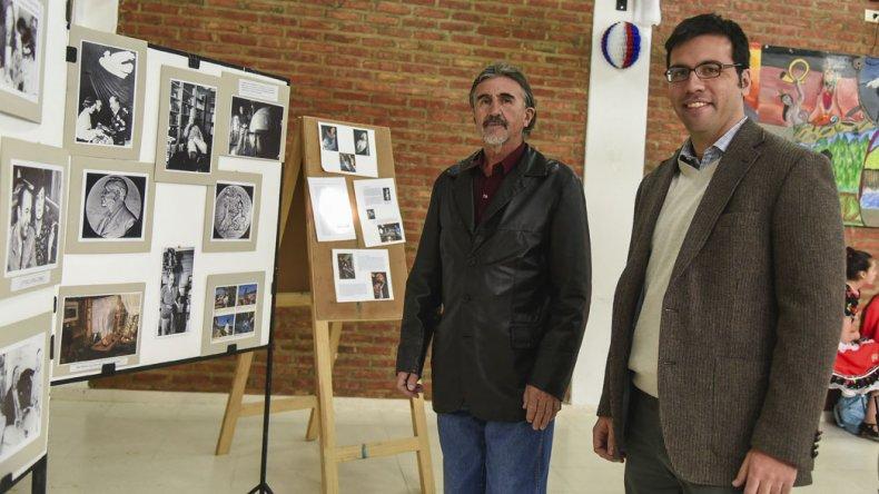 La muestra Neruda en el corazón contó con una gran participación de la comunidad comodorense.
