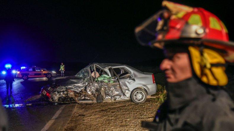 Muere un hombre en un  choque frontal en Ruta 26