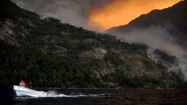 Hoy se declara la emergencia ígnea en Chubut