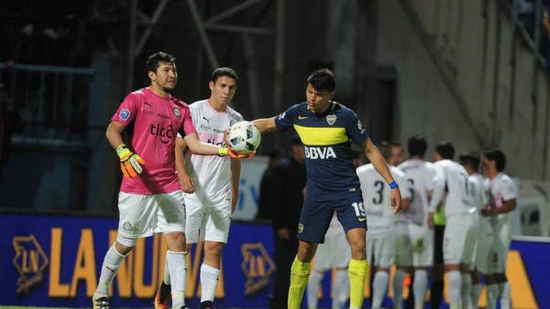 Escandaloso final en el amistoso entre Boca Juniors y Olimpia de Paraguay