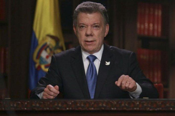 Santos llamó a que el diálogo sea fructífero.