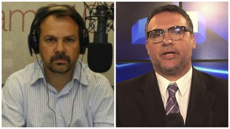 Gustavo Sylvestre y Mauro Federico habrían sido espiados por la Agencia Federal de Inteligencia.