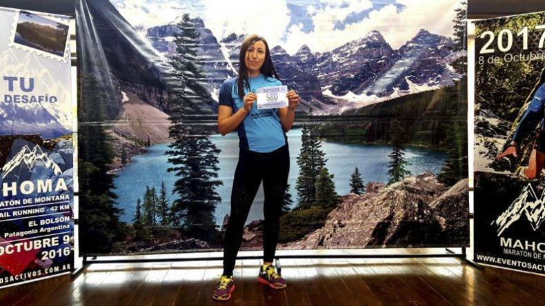 Marcia Mayor sumó una nueva experiencia desde que llegó hace cuatro años al mundo runner.