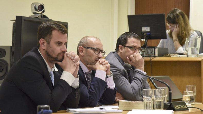 El abogado querellante Sergio Romero y el fiscal Adrián Cabral pidieron penas altas para los dos acusados.