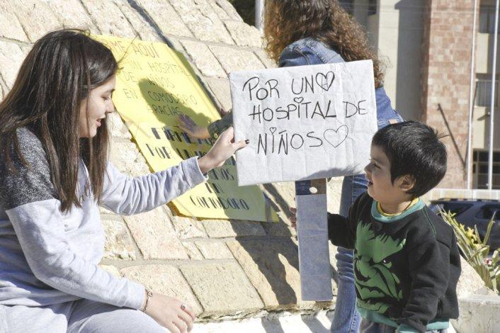 El proyecto que busca construir un hospital pediátrico en Comodoro Rivadavia será tratado el martes por los diputados provinciales.