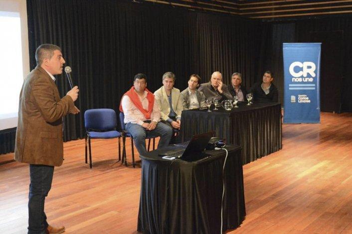 La presentación del Plan Estratégico de Modernización del municipio de Comodoro Rivadavia.