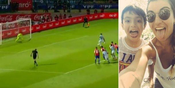 El Kun Agüero erró un penal y Gianinna Maradona saltó en su defensa