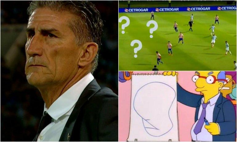 Argentina jugó uno de sus peores partidos y las redes estallaron contra Bauza