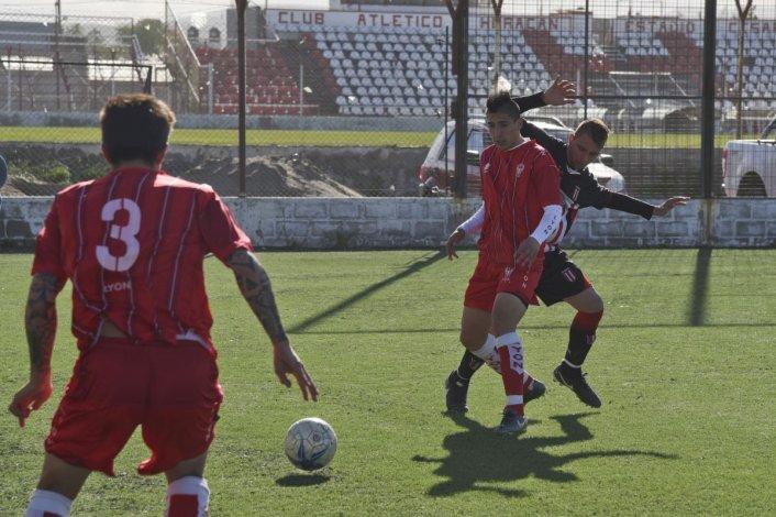 Huracán y Ameghino empataron en el César Muñoz