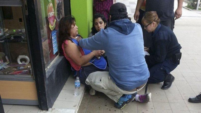Stella Jaramillo fue apuñalada mientras atendía su comercio en la avenida Portugal.