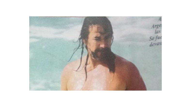 El desmejorado físico de Marco Antonio Solis en las playas de Miami