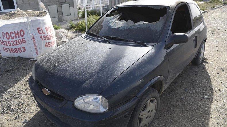 El Chevrolet Corsa de una de las denunciantes fue incendiado el martes en la extensión de Ciudadela.