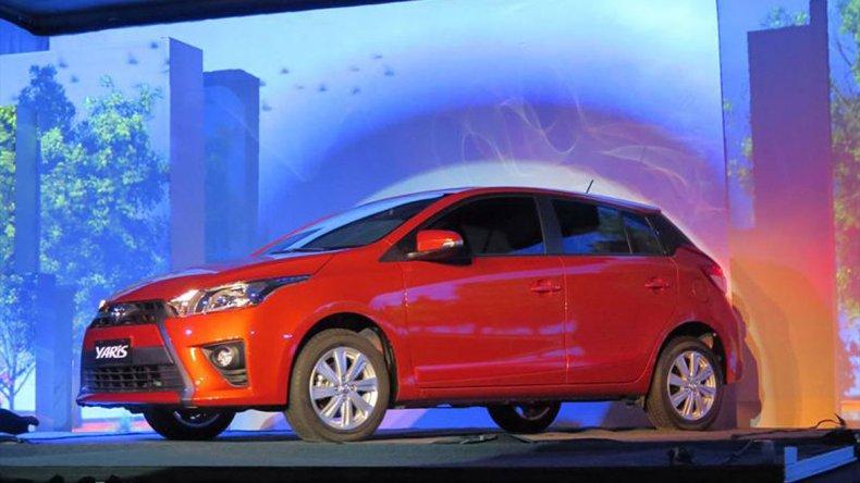 Toyota presentó el nuevo Yaris en Argentina