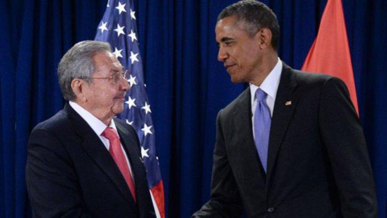El presidente estadounidense considera irreversible el proceso de apertura hacia Cuba.