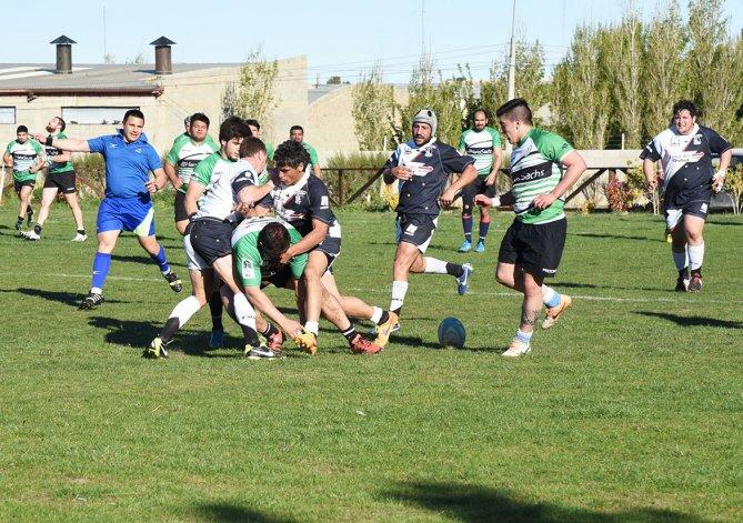 La selección Austral le ganó a la URVEch 46-15 en el primer amistoso jugado en cancha de Deportivo Portugués.