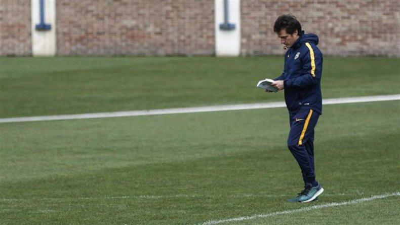 Guillermo Barros Schelotto todavía no confirmó el equipo que jugará mañana ante Sarmiento de Junín.