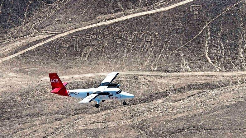 Para apreciar este fenómeno se realizan frecuentes sobrevuelos en pequeños aviones.