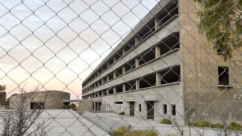 La Ciudad Judicial ingresa en sus etapas finales de construcción después que la obra permaneciera varios años paralizada.