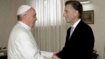 macri y la reunion con el papa: la preocupacion por la pobreza es compartida