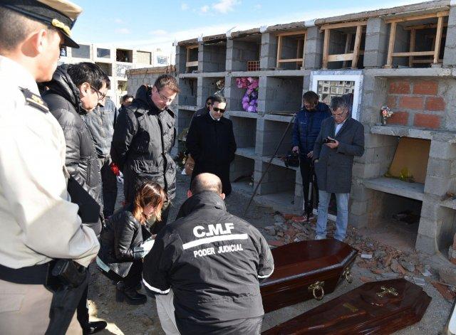 El cuerpo médico forense trasladó el cadáver de Gerez