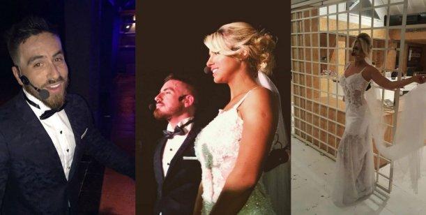 Así fue la falsa boda de Ailén Bechara y Fede Bal