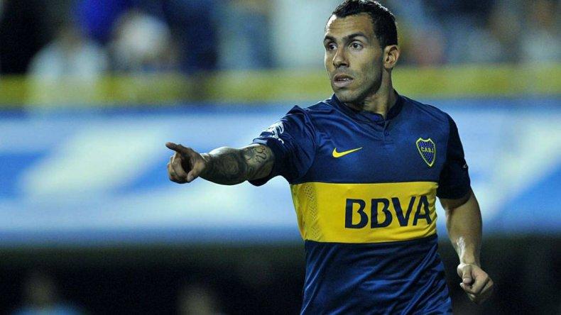Carlos Tevez reaparecerá esta tarde en la formación titular de Boca.