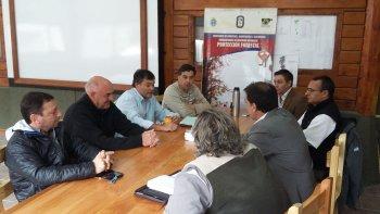 El ministro de Ambiente, Ignacio Agulleiro, remarcó que Nación tiene que contribuir en la protección de los bosques de la cordillera.